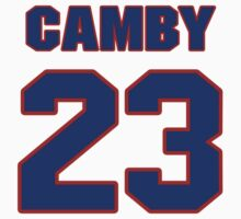 Basketball player Marcus Camby jersey 23 by imsport