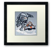 Jurassic Hoth Framed Print