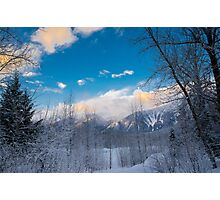 Winters day  Photographic Print