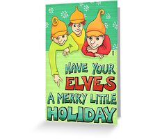 yourElves Greeting Card
