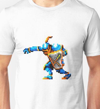 Pixel art of knight Unisex T-Shirt