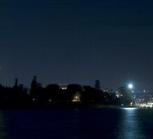 Very Wide Sydney Harbour Skyline Panorama by Gino Iori