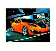 Hyundai Surprises Art Print