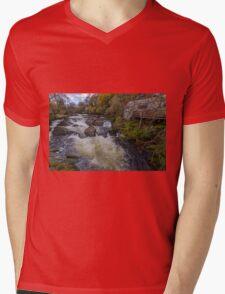 Little House On The River Mens V-Neck T-Shirt