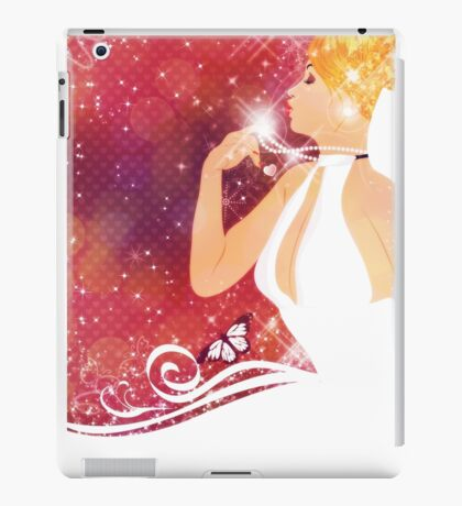 Beautiful bride iPad Case/Skin