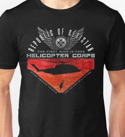 Kekistan Helicopter Corps Unisex T-Shirt