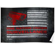 One Nation Under Surveillance - ihone & Laptop shell Poster