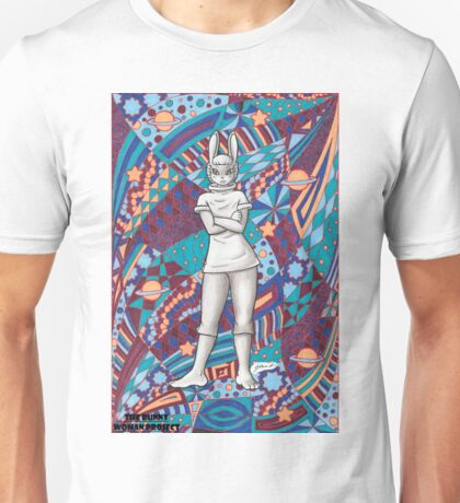 The Bunny Woman Project: Leonora Unisex T-Shirt