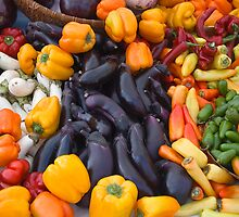 Cornucopia-Farmers market in Santa Barbara by Eyal Nahmias