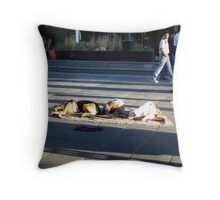 Born to assist Throw Pillow