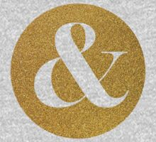 Gold ampersand One Piece - Long Sleeve