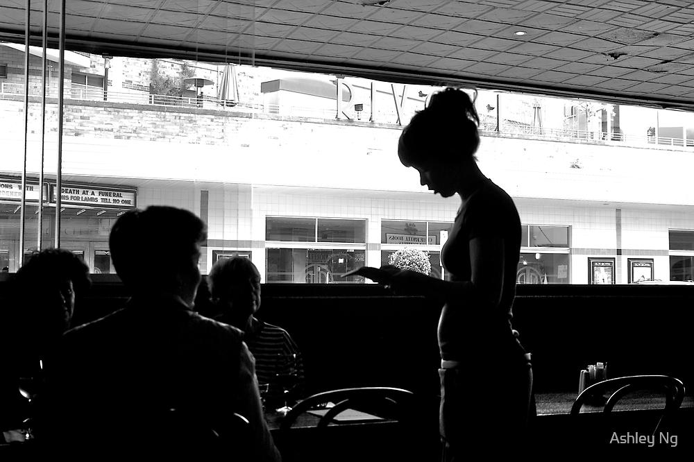 The waitress by Ashley Ng