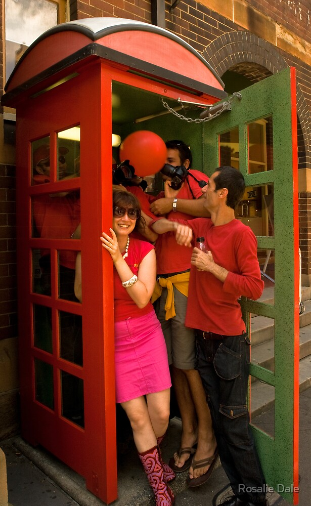 RB Phone Booth (Sydney) by Rosalie Dale