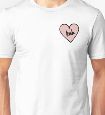KNK Heart Patch kpop Unisex T-Shirt