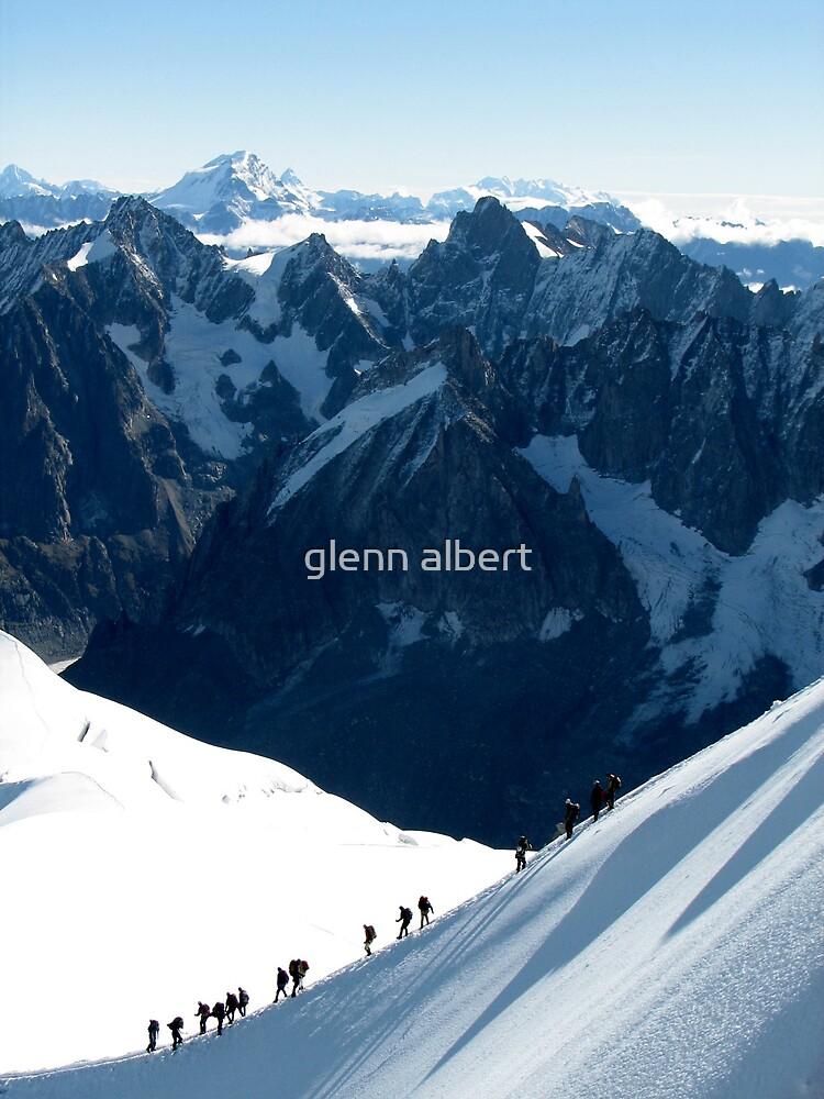 Aiguille du Midi by glenn albert