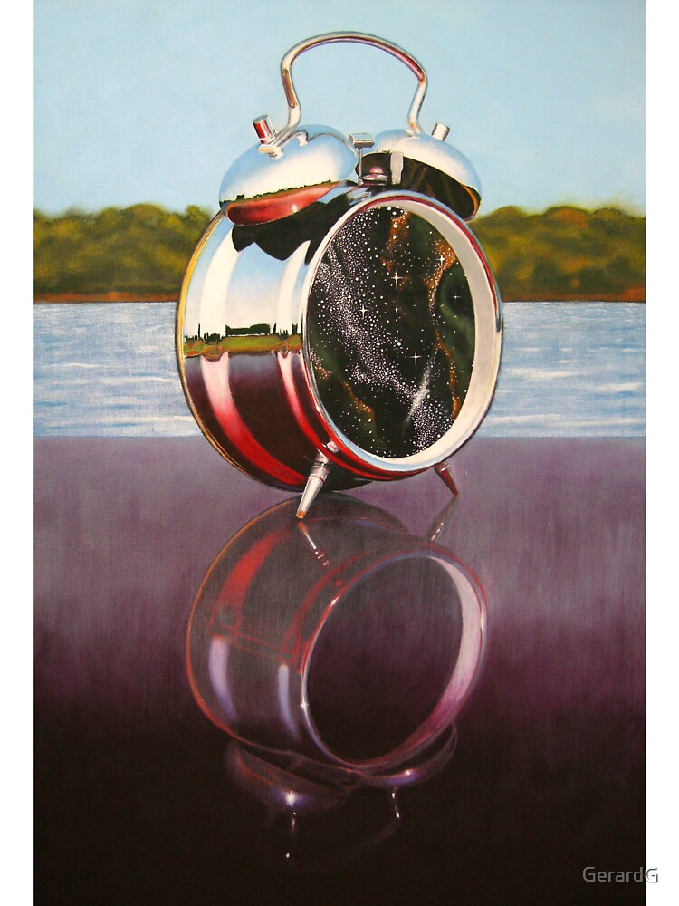 REFLECTED CLOCK by GerardG