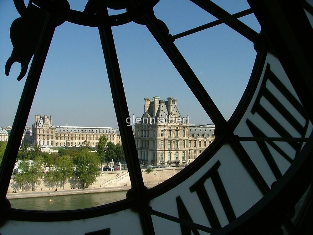Looking thru the Clock by glenn albert