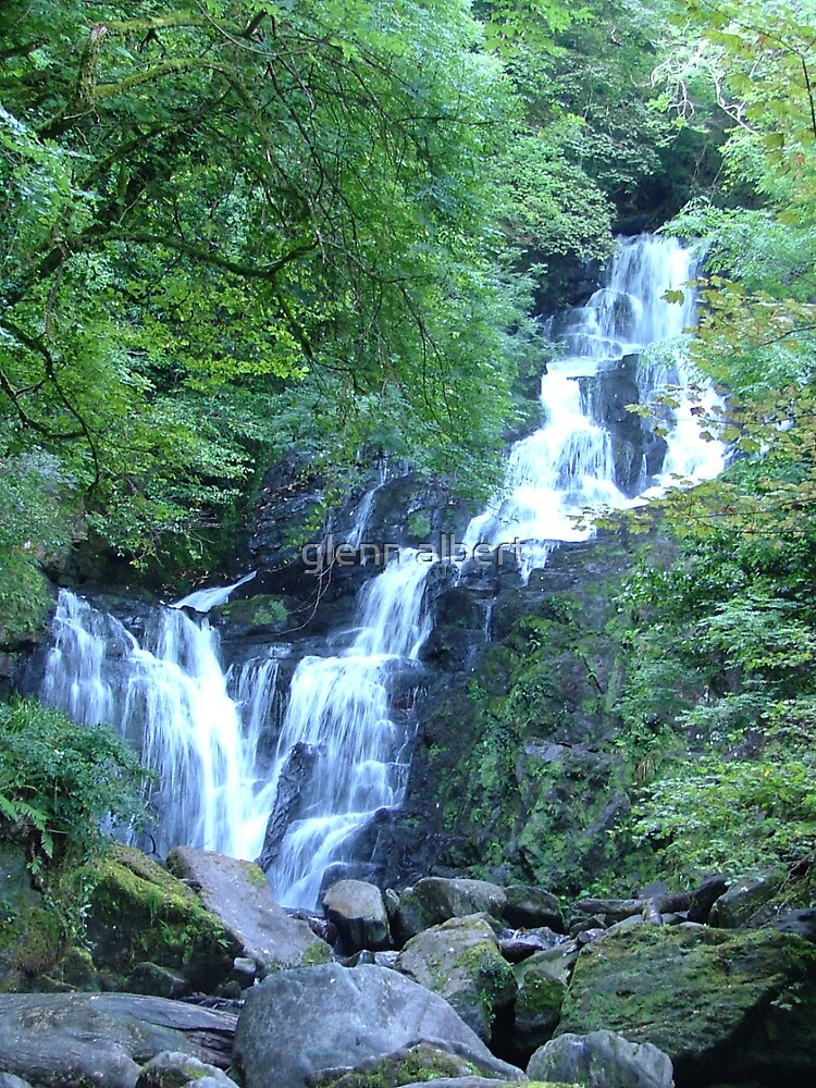 Torc Waterfall by glenn albert
