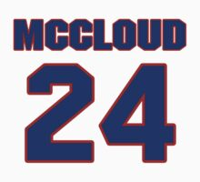Basketball player George McCloud jersey 24 by imsport