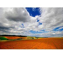 Between sky and hearth Photographic Print
