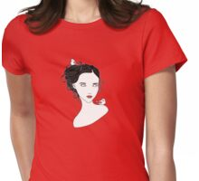 For the birds Womens Fitted T-Shirt