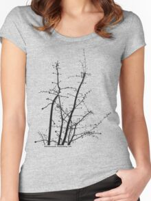 branching out Women's Fitted Scoop T-Shirt