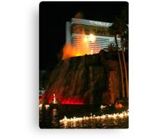 Vegas Volcano Canvas Print
