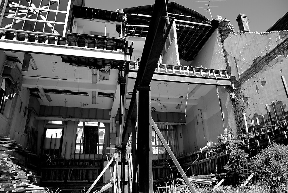 Urban ruins by Ashley Ng