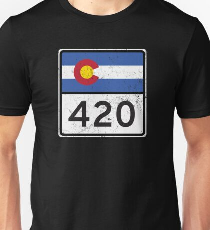 Colorado HIGHway 420 Unisex T-Shirt