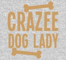 Crazee Dog lady One Piece - Short Sleeve