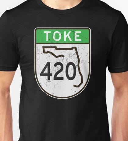 Toke HIGHway 420 Florida  Unisex T-Shirt