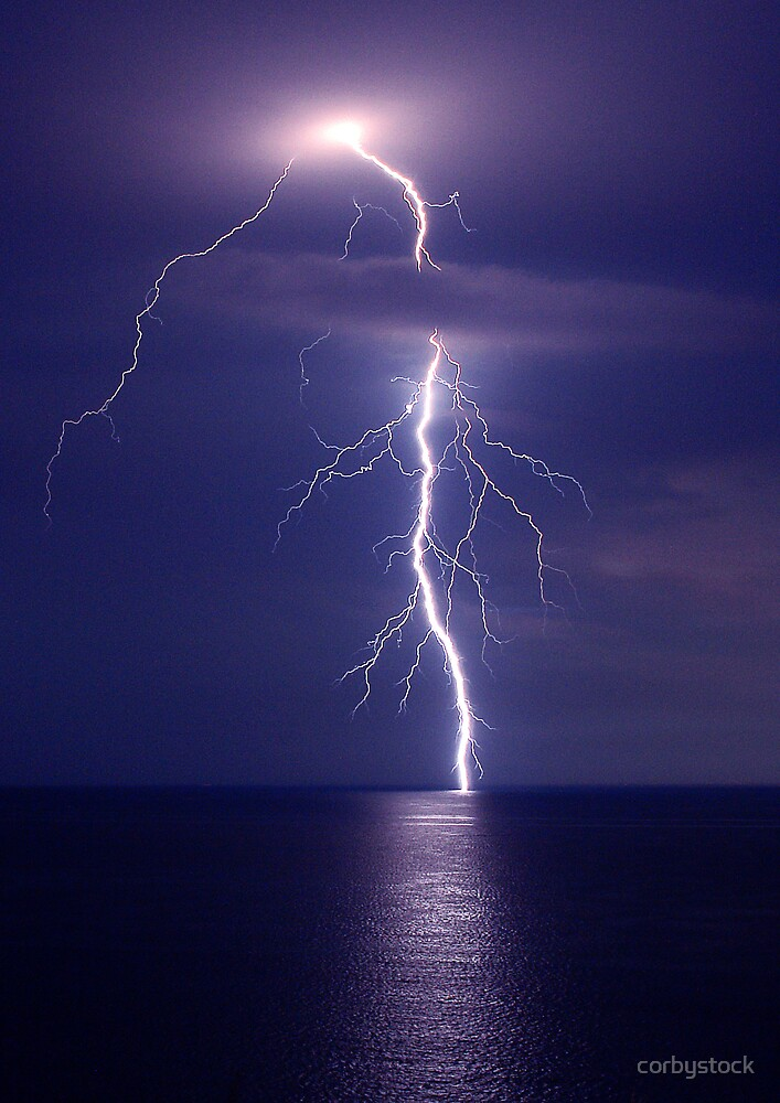 lightning 1 by corbystock