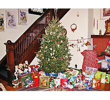 Christmas Scene With Dalek Photographic Print