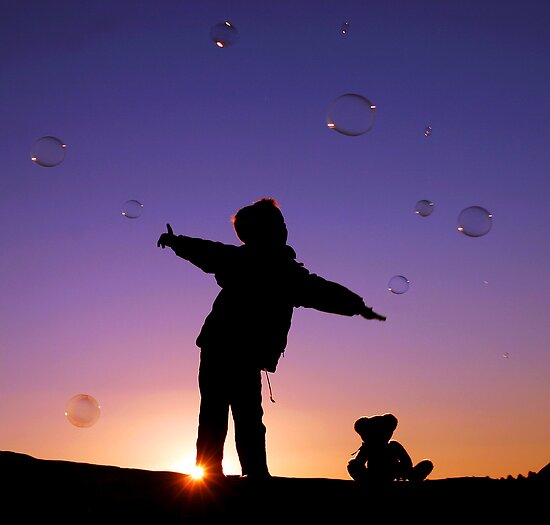 Catching Bubbles by Annette Blattman