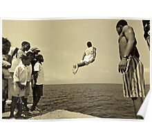 Flying out Sao Tome Poster