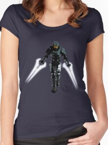Spartan 117 Women's Fitted Scoop T-Shirt