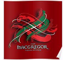 MacGregor Tartan Twist Poster
