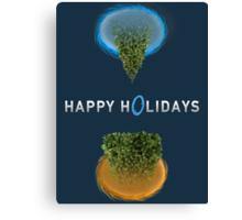 Happy Portal Holiday Canvas Print
