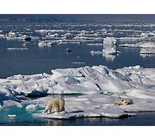 Ice Retreat Photographic Print