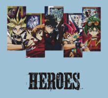 Yu-Gi-Oh Heroes by Rikou Sawada