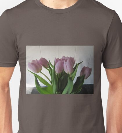Tulips For Mothering Sunday Unisex T-Shirt