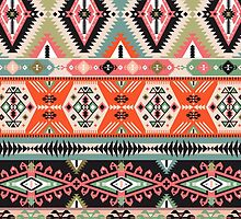 Pattern in native american style by Olena Syerozhym