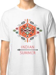 Pattern in native american style Classic T-Shirt