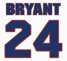 Basketball player Kobe Bryant jersey 24 by imsport