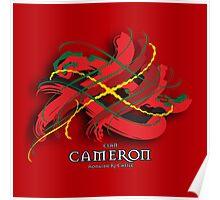Cameron Tartan Twist Poster