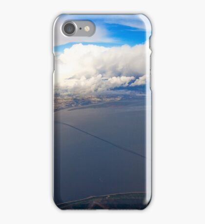 sky. lisbon and tagus river iPhone Case/Skin