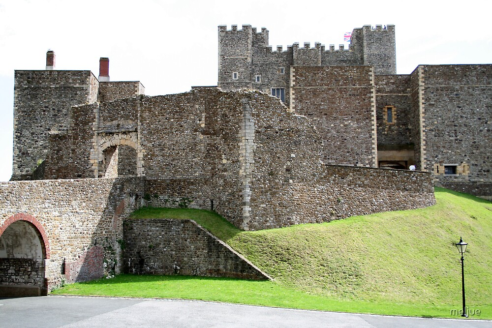 Dover Castle by meljue
