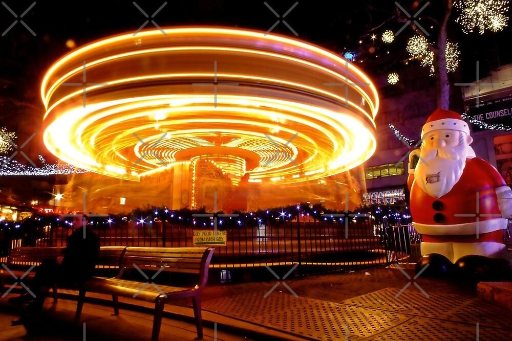 Santa's Spaceship? by Ludwig Wagner