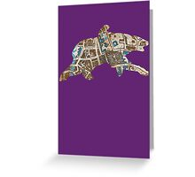 His Dark Materials: Lyra's Oxford cut out Greeting Card