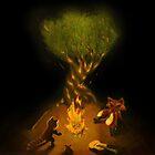 Campfire by Varans